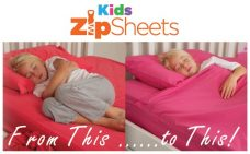 Kid's Zip Sheets