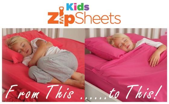 Kid's Zip Sheets